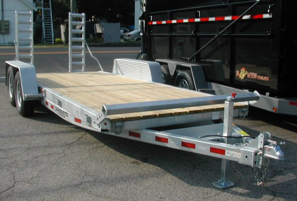 2017 Load Rite Equipment Trailer Galvanized