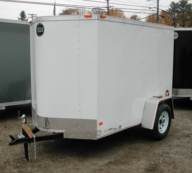 WELLS CARGO FT58S2-D 5' x 8' Vee