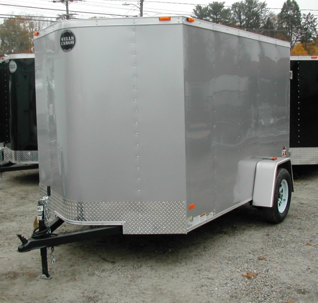 WELLS CARGO FT610S2-D 6' x 10' Vee
