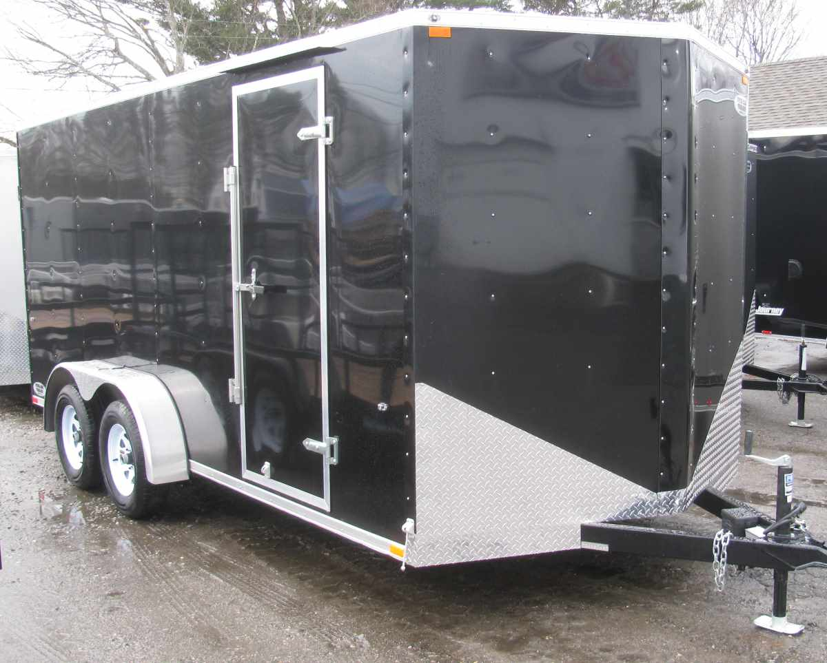 INTEGRITY TRAILERS WW 7x16 T 7' x 16' Vee