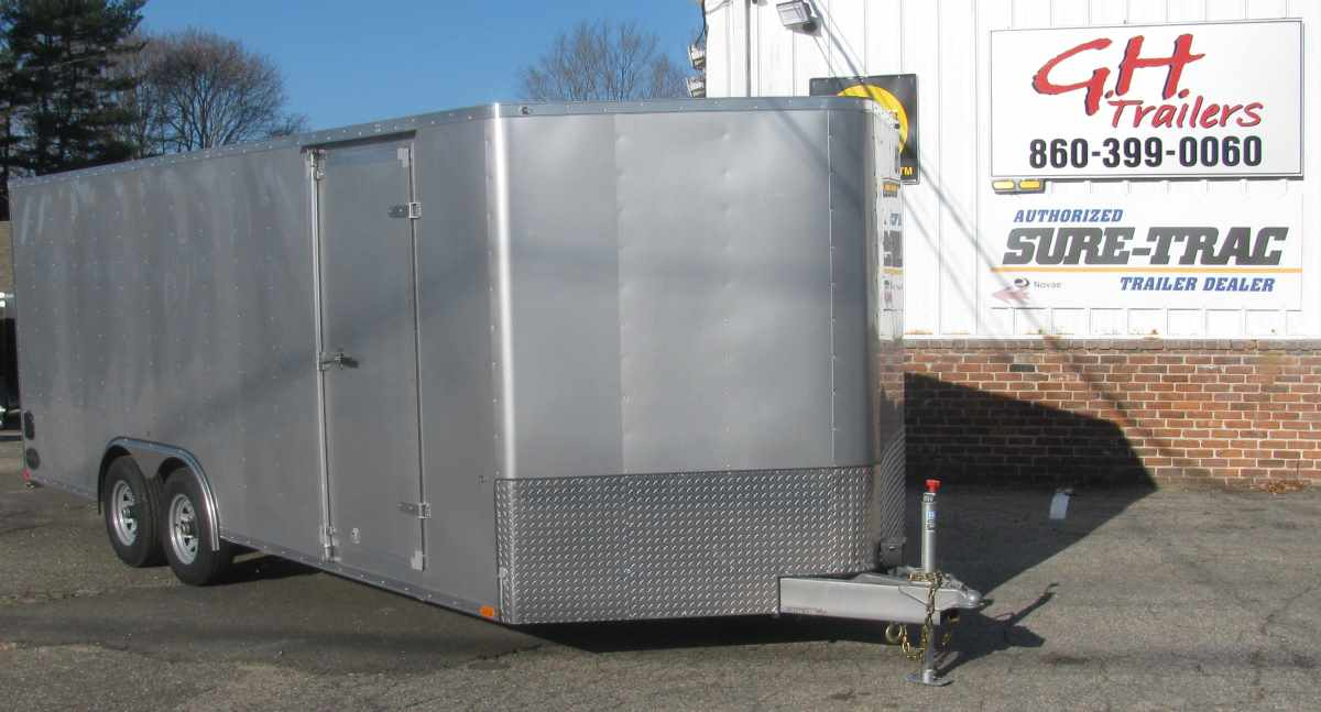 INTEGRITY TRAILERS TL-8x20-TV 8.5 ft x 20 ft
