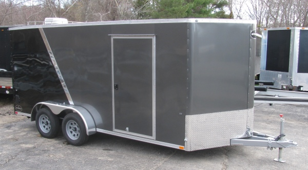 INTEGRITY TRAILERS TL 7 X 18 TV  *Commercial Grade* 7' X 18 ' VEE